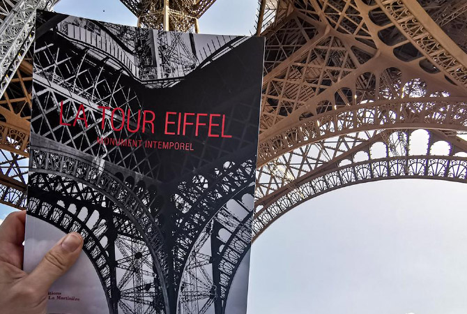 The Eiffel tower - Timeless Monument